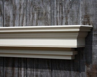 Large Floating Wall Shelf 6foot By Rayscustomwoodwork On Etsy