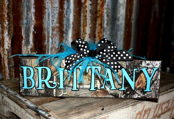 Decorative Name Plates For Home: Items Similar To Personalized Customized Camo Name Plates
