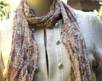 Silk scarf, Scarf, Sari scarf, Head Scarf