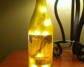 Dave Matthews Dreaming Tree wine bottle lamp