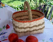 Price Reduced Hand Woven Traditional Native American Style Berry Basket
