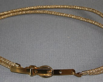 Vintage goldtone belt