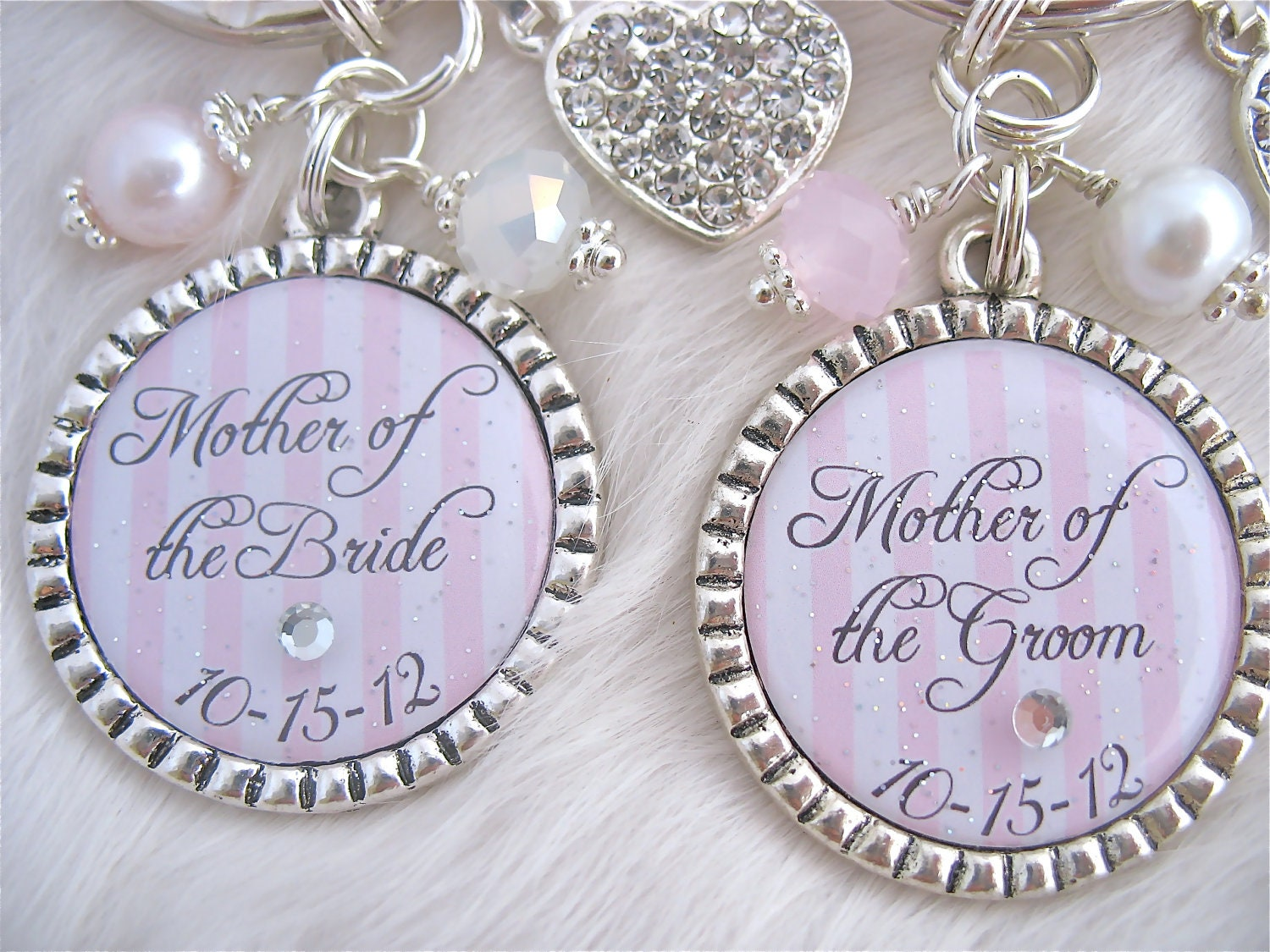 Wedding Gift For Mother Of The Bride And Groom : MOTHER of the BRIDE Gift Mother of the Groom by MyBlueSnowflake