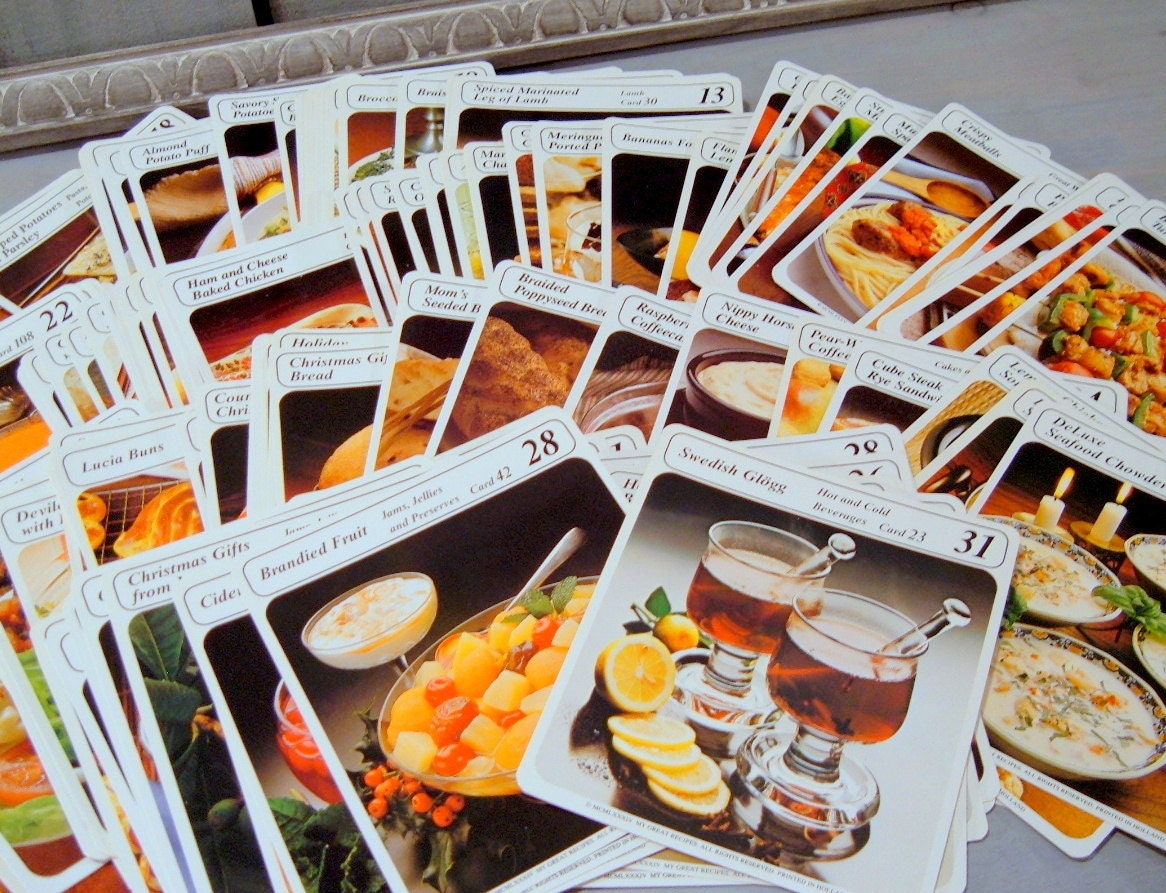 Vintage my great recipes card boxlibrary 32 catigories extra recipes forumfinder Images