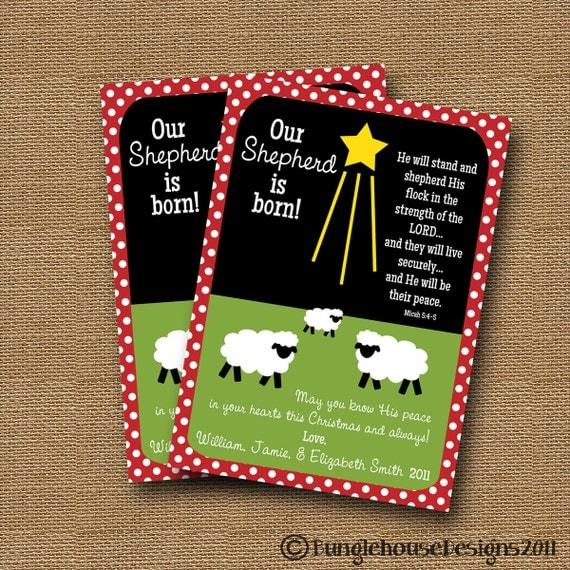 christian christmas card printable scripture christmas card