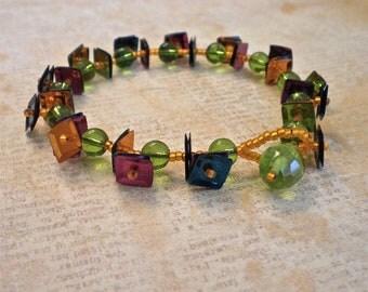Bracelet - The Sequin Collection - Jewel Tones