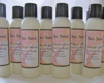 Unscented Natural Hand & Body Lotion - 4.3 oz