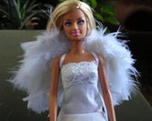 Doll Angel Wings - white ready to ship