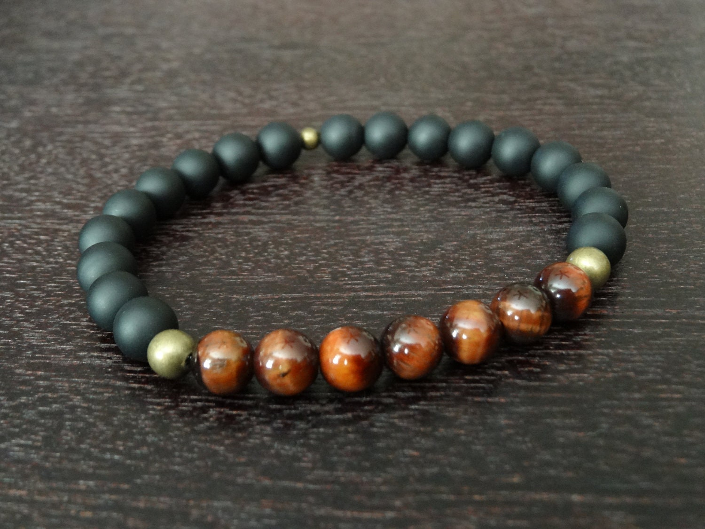 s tiger s eye mala bracelet protection