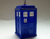 Hanging TARDIS ornament