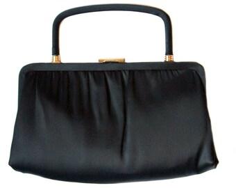 Vintage Ande black purse convertible clutch