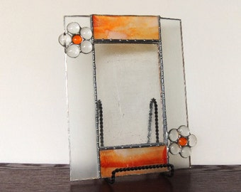 Petals Stained Glass Picture Frame