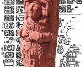"Hand made Cthulhu ""artefact"" :Mayan priest of Cthulhu"
