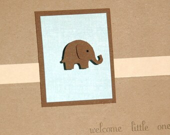 New Baby, Baby Shower Card, Congratulations Baby Card