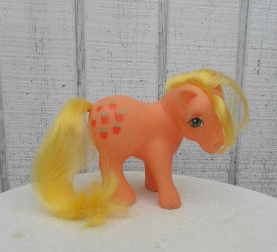 Vintage My Little Pony G1 Applejack Pony 80's Cartoon Toy