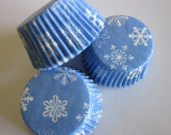 Snowflake Frozen Holiday Standard Baking Liners