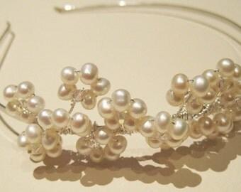 Neve Bridal Pearl Tiara