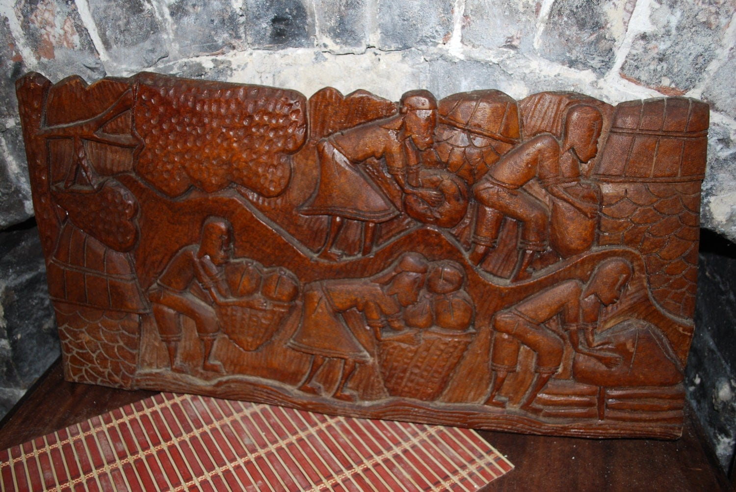 Vintage Wood Carving Haiti By 11eleven11eleven11 On Etsy
