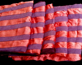 5 Vtg. Red /Marroon Stripe Skirtsfrom Movies