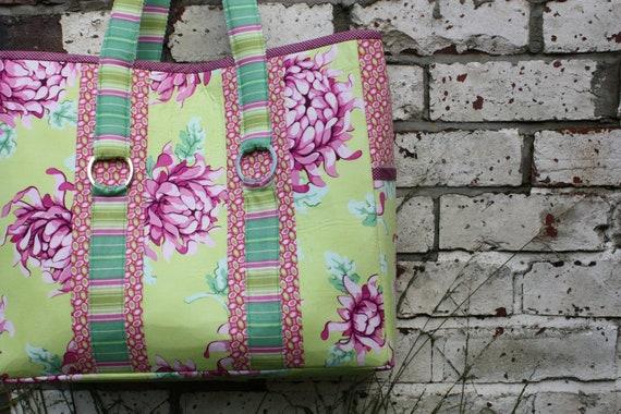 Tote Bag Pattern - The Multi-Purpose Carry All Bag - pdf pattern