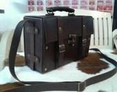 Hand made  retro doctor bag