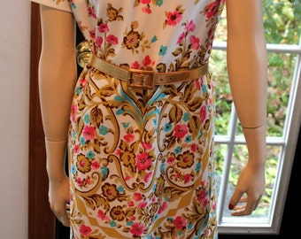 Vintage Lady Carol New York Mod Floral