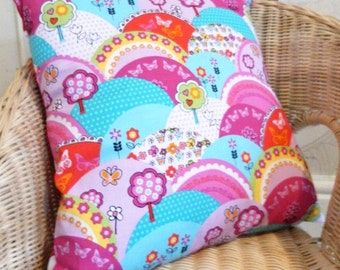 Pink Hills Cushion
