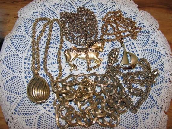Destash Craft Lot of Vintage Jewelry For Creating Treasures
