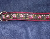 Rose style adjustable collar or martingale