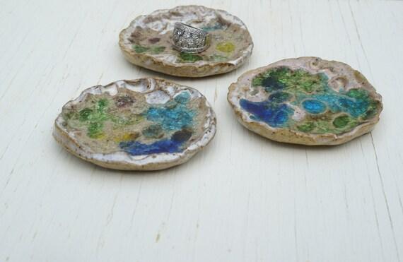 ceramic ring dish set of three