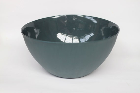 large serving bowl - porcelain (slate colour)