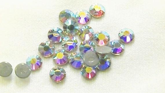 Crystal AB 2028 Swarovski Elements Rhinestones 12ss Hot fix  144 pieces