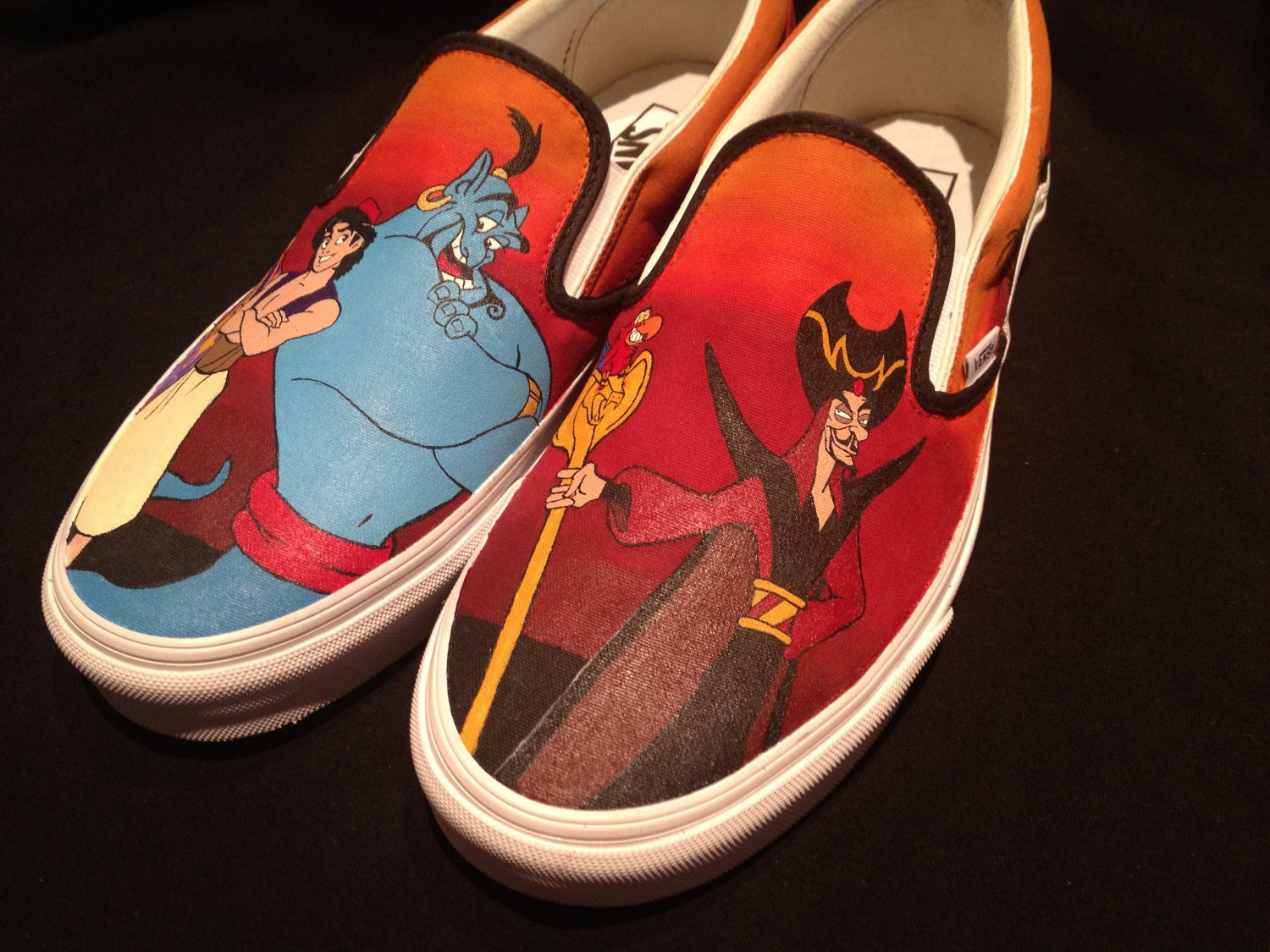 Custom Painted Vans Shoes For Sale
