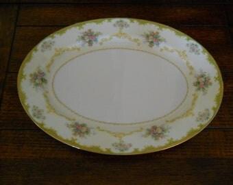 Noritake China Platter-Charoma Pattern