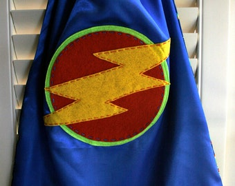 Kids Superhero Cape-PERSONALIZE/CUSTOMIZE Boys Superhero Cape -Choose the Initial - Superhero Birthday Party