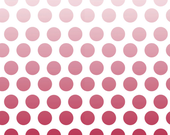 SALE Cotton Ombre Dots in Red by Riley Blake Designs - 1 yard