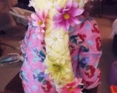 Deluxe Braided Rapunzel Wig With Flowers