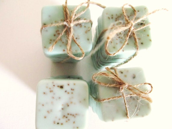 10 personalized Gifts: Soap Gift for Bridesmaid Gift or Bridal Shower Gift