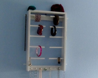 Bracelet Holder & Necklace holder Wall Mounted - Organize your Bracelets and Necklaces