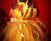 Scarecrow costume tutu dress
