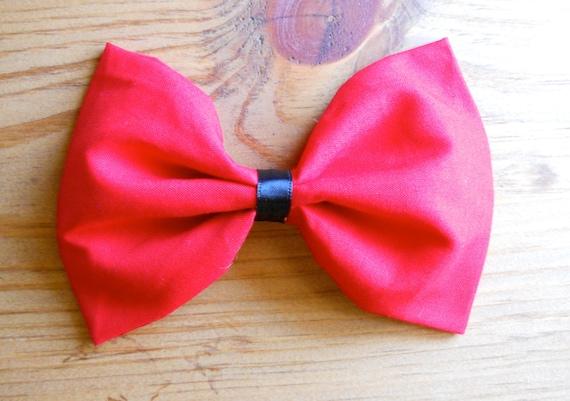 Red Jumbo Hair Bow