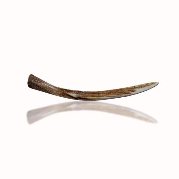 Hair Stick Hairpin Deer Antler Hair Accessory Suitable and for Men Haarnadel HaareTribal Natural Hair Accessory Handmade by MariyaArts