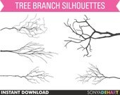 50% OFF SALE Tree Branch Clipart, tree limb clipart, branches clipart, branch clip art, clip art branches, branches clip art