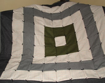 Wool Patchwork Quilt