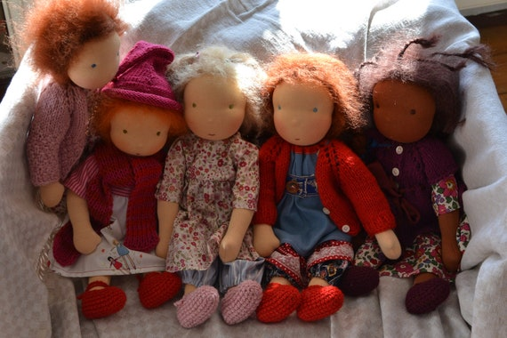 doll making tutorial and patterns for 1000Rehe dolls