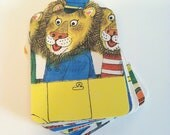 RICHARD SCARRY'S Best COUNTING Book Ever - 20 Tags, Birthday, Christmas, Vintage Book Pages, Supply, Scrapbook, Decoration, Party