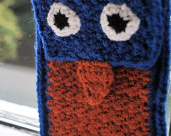 Bertram Bluebird Crocheted iPhone Cozy