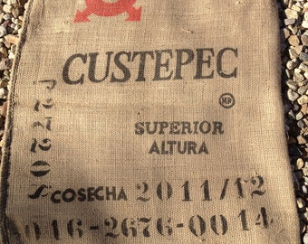 Burlap/Jute Coffee Sack, Bag (Mexico)