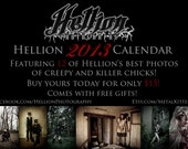 Hellion 2013 Calendar PRE-ORDER (with free gifts)
