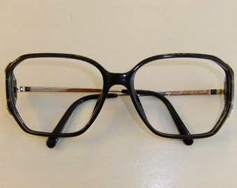Vintage Retro Christian Dior Big Lens Eyeglass Frames -- New Old Stock